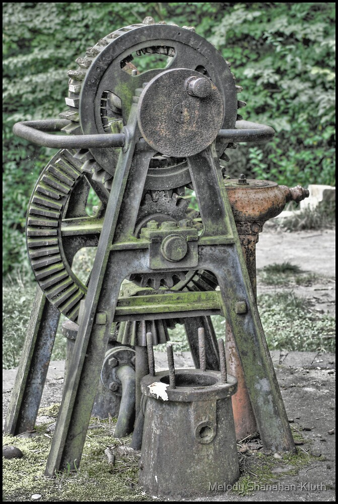 Old Lock Mechanism by Melody Shanahan-Kluth