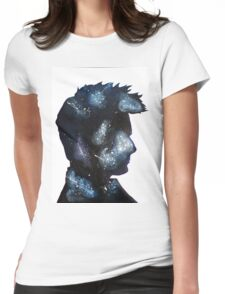 Doctor Who David Tennant Space Womens Fitted T-Shirt