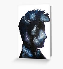Doctor Who David Tennant Space Greeting Card