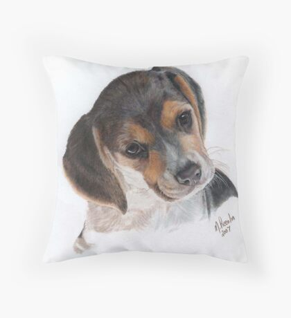 Teagan-Color Pencil Throw Pillow