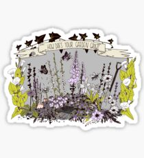 How Does Your Garden Grow? Sticker