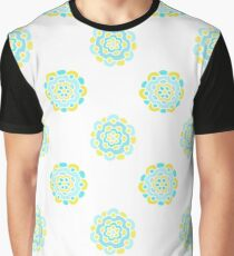 Doodle floral cute pattern. Seamless baby background. Beautiful pastel wallpaper.  Graphic T-Shirt