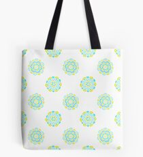 Doodle floral cute pattern. Seamless baby background. Beautiful pastel wallpaper.  Tote Bag