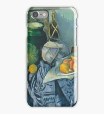 Camille Pissarro - Still Life With A Ginger Jar And Eggplants, 1893 iPhone Case/Skin