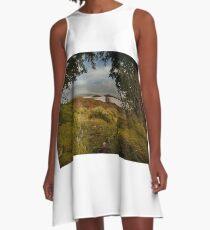 Loch Ba – Rannoch Moor A-Line Dress
