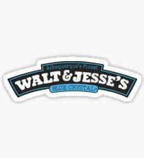 Walt   Jesse S Blue Crystal Sticker