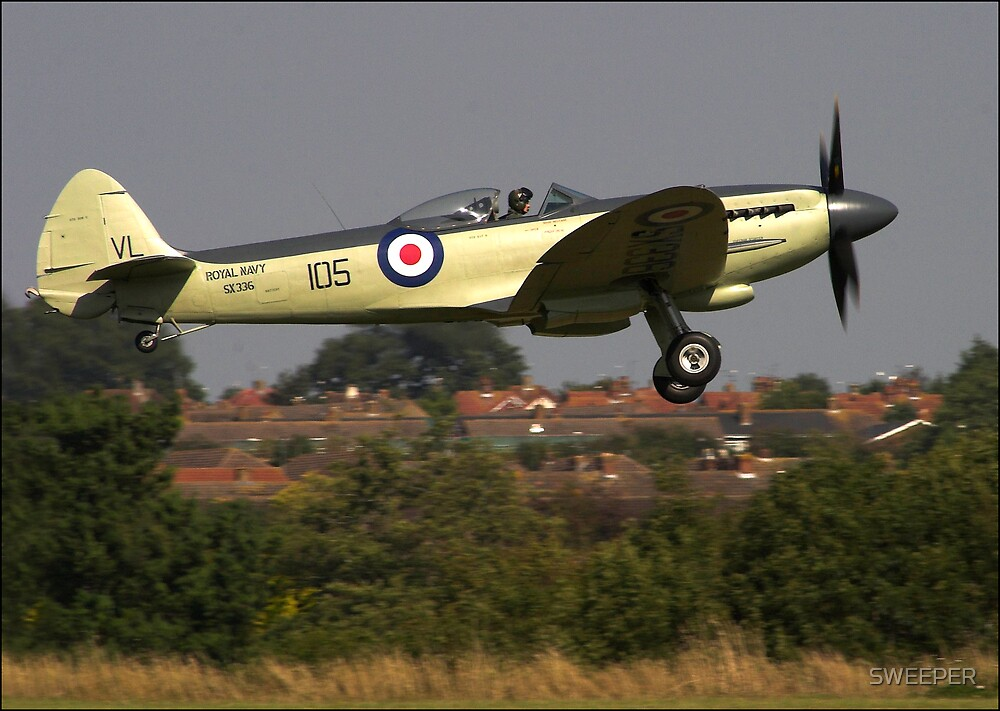 Supermarine SEAFIRE by SWEEPER