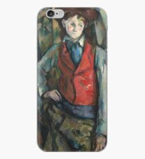 Camille Pissarro - Boy In A Red Waistcoat, 1888 iPhone Case