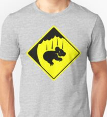 CAUTION: DROP BEARS Unisex T-Shirt