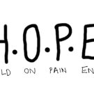 H.O.P.E (Hold On Pain Ends) by LittleMizMagic