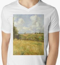 Camille Pissarro - A Rye Field, Hill Of Gratte Coqs, Pontoise 1877 T-Shirt