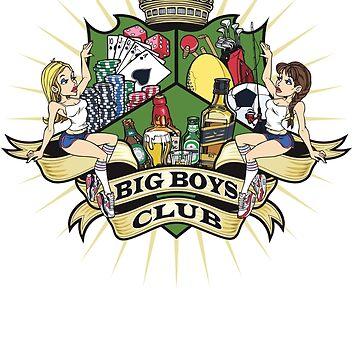 Big Boys Club Coat of Arms by BigBoysClub