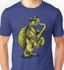 Turtle Playing The Saxophone Unisex T-Shirt