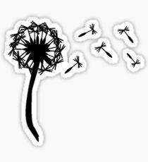 Dandilion Sticker