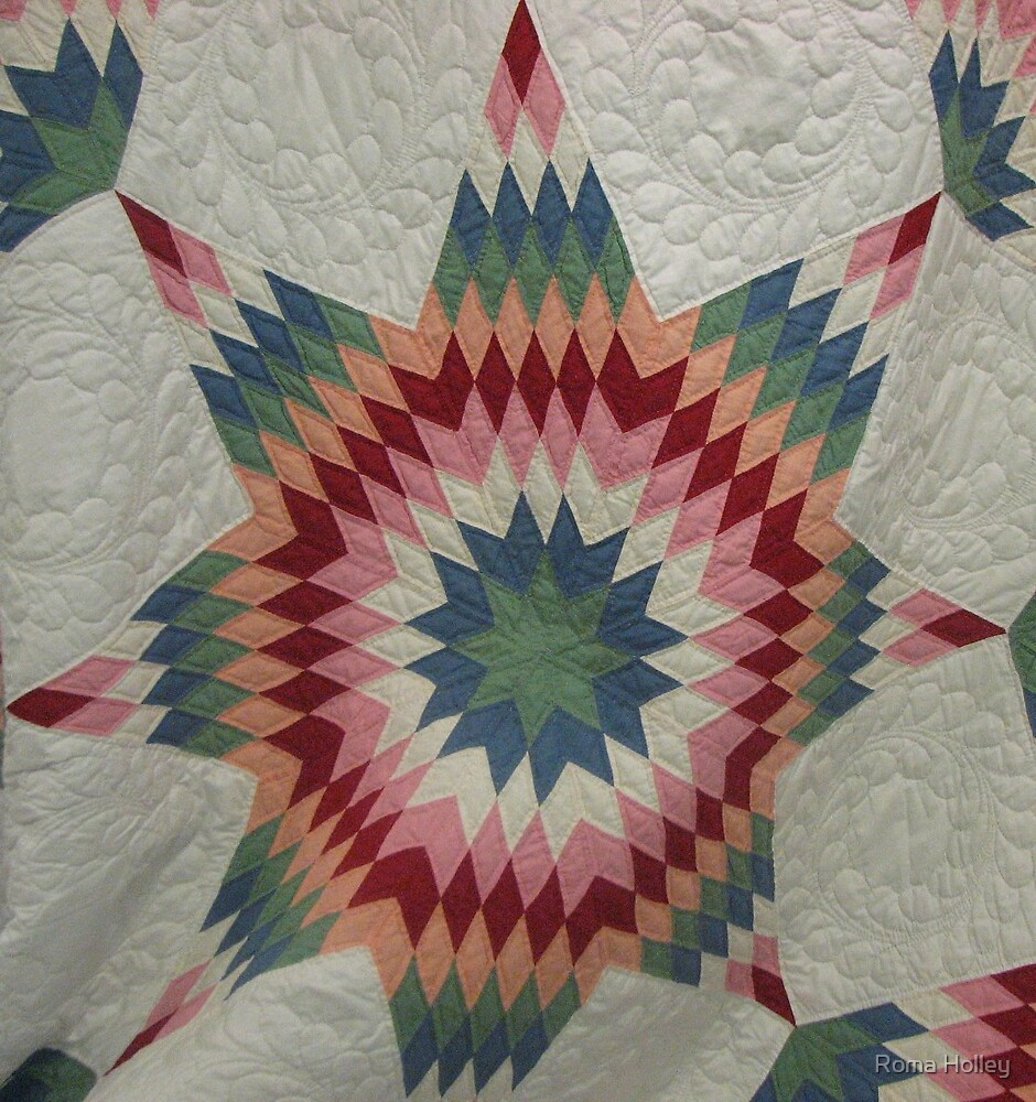 Star Stitches by Roma Holley