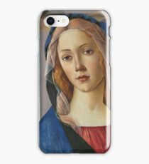 Botticelli - The Virgin And Child  1490 iPhone Case/Skin