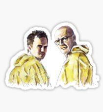 Walt   Jesse Sticker