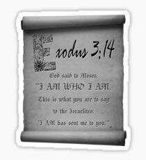 AlphaZen - E Bible Verse Sticker