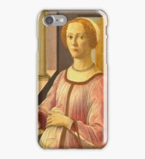 Botticelli - Portrait Of A Lady Known As Smeralda Bandinelli 1480 iPhone Case/Skin