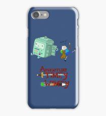 Adventure Timey wimey iPhone Case/Skin