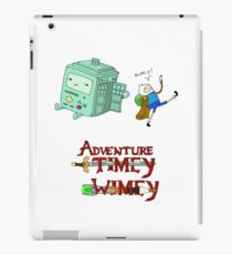 Adventure Timey wimey iPad Case/Skin