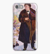 Boris Kustodiev - Portrait Of Fyodor Chaliapin 1922 iPhone Case/Skin