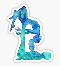 Acro Yoga couple Sticker
