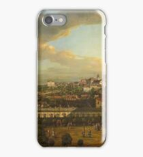 Bernardo Bellotto - View Of Warsaw From The Terrace Of The Royal Castle1773 iPhone Case/Skin