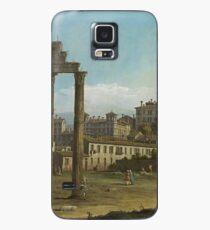 Bernardo Bellotto - Ruins Of The Forum, Rome 1743 Case/Skin for Samsung Galaxy