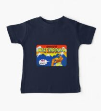 Beautiful West Virginia United States of Alf Travel Decal Kids Clothes