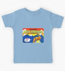 Beautiful West Virginia United States of Alf Travel Decal Kids Tee