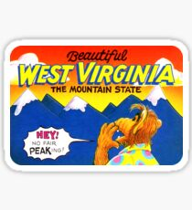 Beautiful West Virginia United States of Alf Travel Decal Sticker