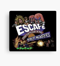 Gaming [C64] - Escape from the Planet of the Robot Monsters Canvas Print