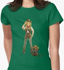 Tammy and Alfred Tame the West Womens Fitted T-Shirt