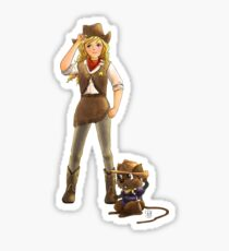 Tammy and Alfred Tame the West Sticker
