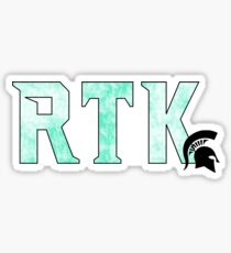 RTK-mint green Sticker