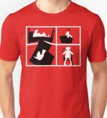 Gorillaz Saturnz Barz Silhouette (With Borders) Unisex T-Shirt