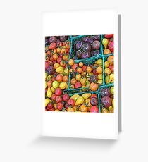 Market Toms Greeting Card