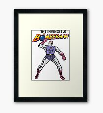 The Invincible Bomberman Framed Print
