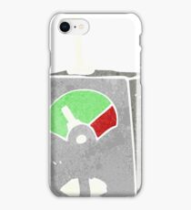 retro cartoon scientific equipment iPhone Case/Skin