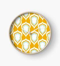 Seamless damask pattern Clock