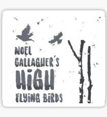 Noel Gallagher's High Flying Birds Sticker
