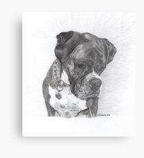 Tyson - graphite Metal Print