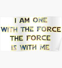Force With Me Poster