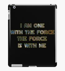 Force With Me iPad Case/Skin