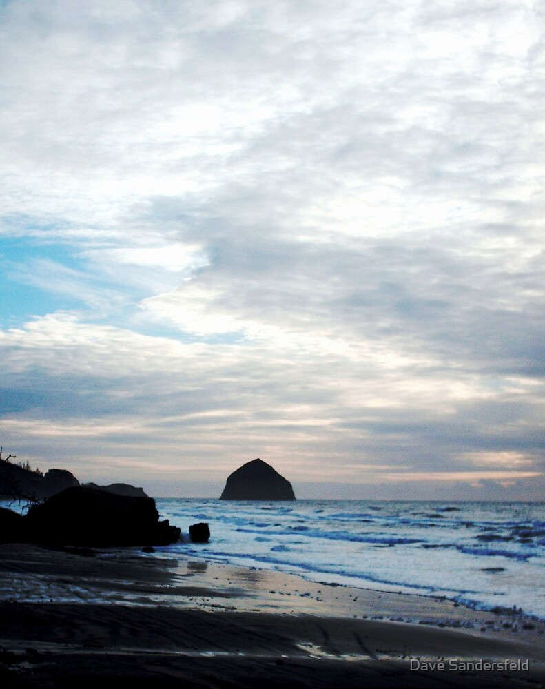 Pacific Ocean Sunset by Dave Sandersfeld