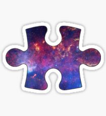 Galaxy Puzzle Piece Sticker