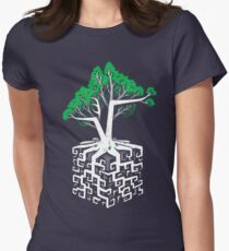 Cube Root Womens Fitted T-Shirt