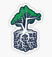 Cube Root Sticker