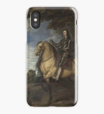 Anthony Van Dyck - Equestrian Portrait Of Charles I iPhone Case/Skin